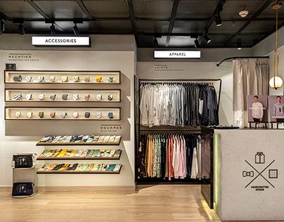 Lacquere Embassy Store - Studio Bipolar, New Delhi