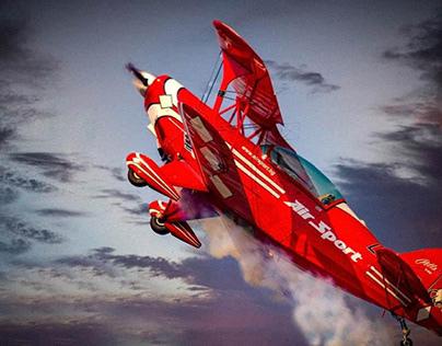 Red bye plane flight