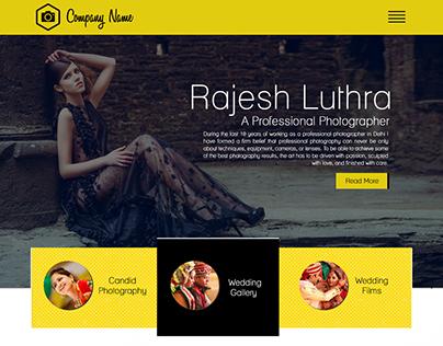 Template : Lalit Mishra (Web Designer)
