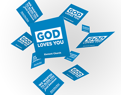 Random Act Of Kindness Card for Element Church