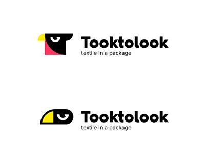 Creative textile brand. Geometric identity. Trade mark.