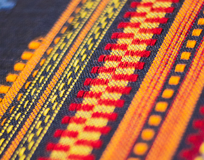 Traditionally woven acoustic textile / 2016 Bachelor