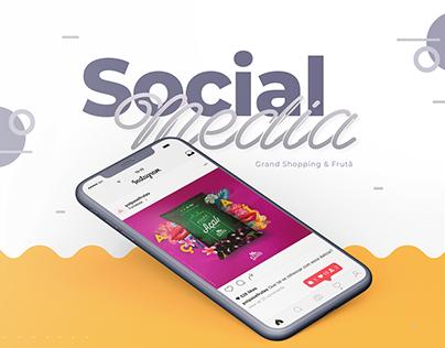 Social Media // Grand Shopping & Frutã