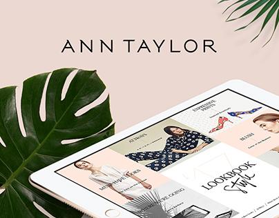 Ann Taylor Interactive Style Lookbook