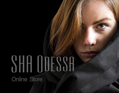 SHA Odessa online store redesign