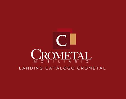 Landing catálogo Crometal