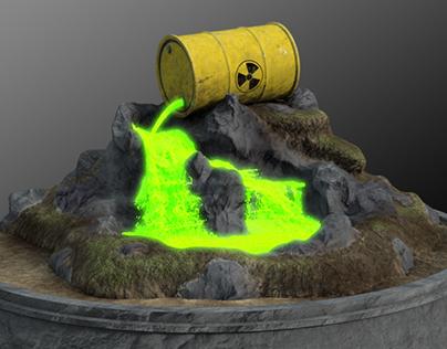 Toxic Waste Simulation
