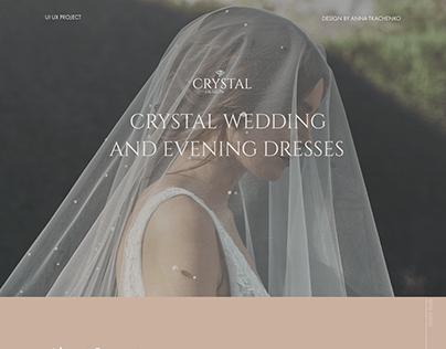 CRYSTAL WEDDING DRESSES|landing page