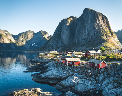 Beyond the Polar Circle : road trippin' in Norway