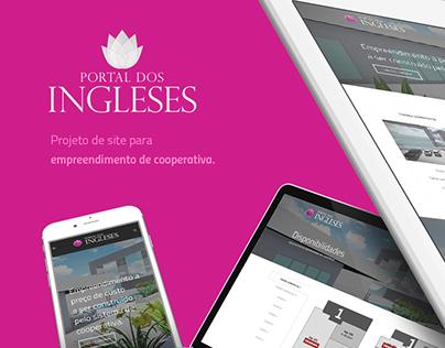 Site: Portal dos Ingleses