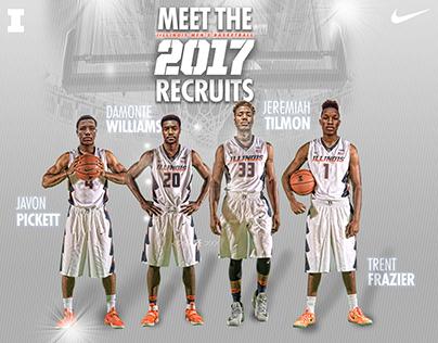 Illinois Men's Basketball 2017 Recruits