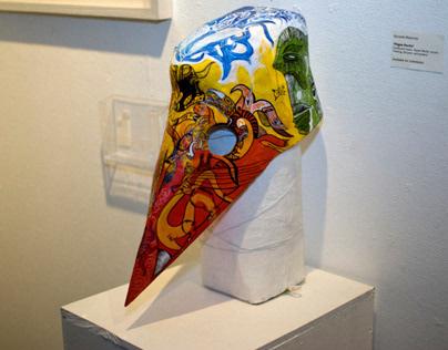 Plague Doctor Mask - Filmbase Exhibition