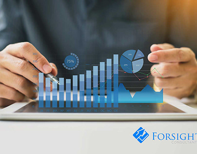 Forsight Consultant logo and mockups