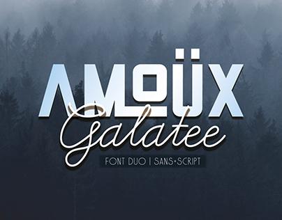 AMOÜX & Galatee | Font Duo