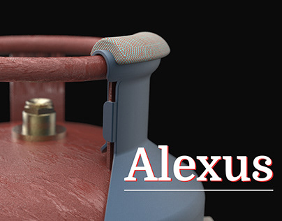ALEXUS (Prevents Injuries from gas cylinder lifting)