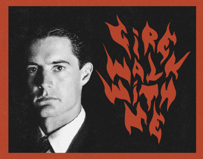 Twin Peaks: Fire Walk With Me Movie Poster Design