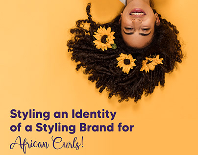 Brand Identity for Kaimi Curls+, Uganda