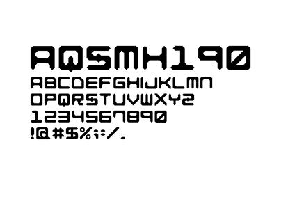 Font desing for quq.jp.