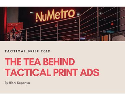 Tactical Print Ad
