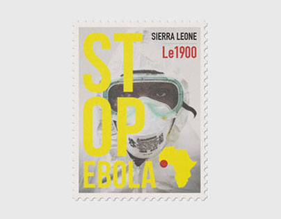 Ebola Awareness Postage Stamps