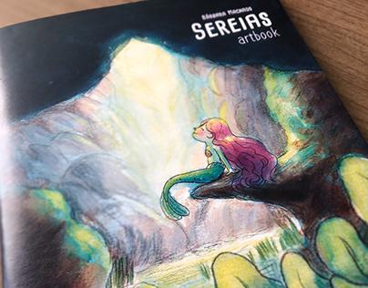 """Artbook """"Sereias"""""""