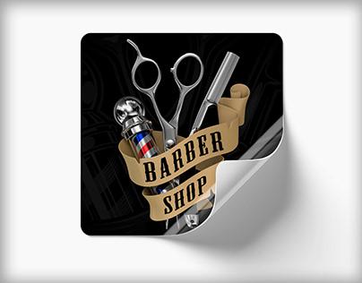 BARBER SHOP - CINEMA 4D -ESTUDOS