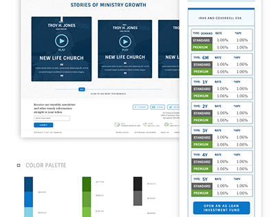 AG Financial Web Redesign