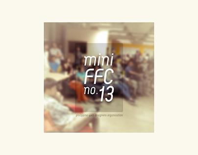 Social media poster design — MiniFFC