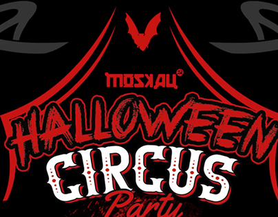 Spot Halloween Circus Party