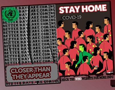postcard for awareness