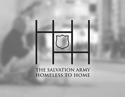 Homeless to Home Logo + Branding Design