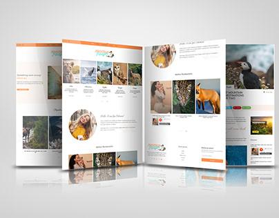 TravelBlog wordpress website