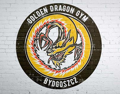 Golden Dragon logo concept
