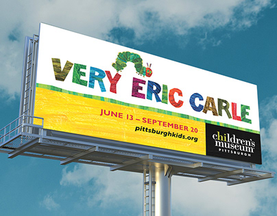 Very Eric Carle Exhibit: Collateral and Advertising