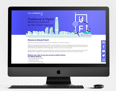 Ultimate Fintech Website Re-Design