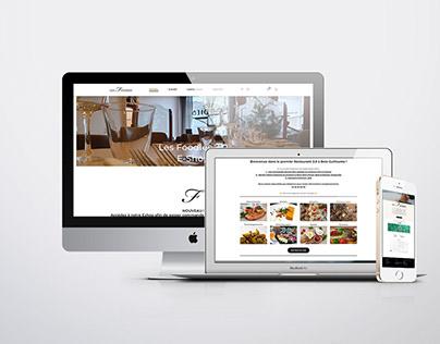 Site web du restaurant : Les Foodies