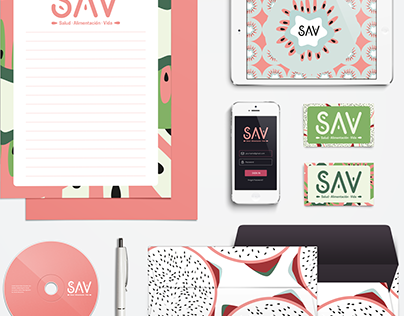 SAV corporate image & branding
