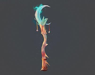 Enchanted Staff