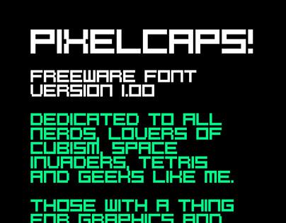 PixelCaps! Font