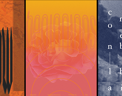 Experimental type posters