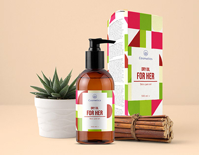 Cosmetics Packaging - Dry Oil