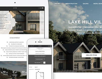 Lake Hill and Lake Hill Village website