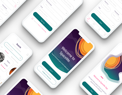 UI/UX case study   SpaceMe - tickets booking app