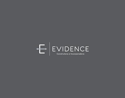 Evidence Construtora Design de Logo