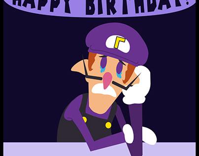 Happy Birthday Waluigi!