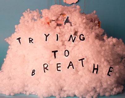 Trying to breathe | Stop-motion video