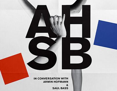 Saul Bass & Armin Hofmann Exhibition