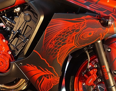 HONDA - CBR / XRE / PCX Color and Graphics concepts