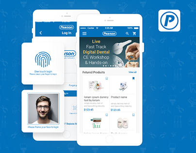Pearson Dental Supply – An eCommerce App