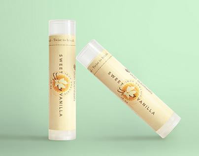 Sweet Vanilla Lip Balm by SkinScentuals